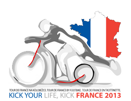 Kick your life, kick France 2013 - Tour de France 2013 on footbike